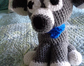 Puppy Hand Crocheted Dog FREE SHIPPING