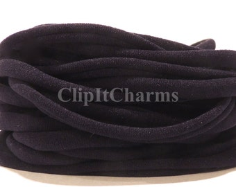 Wholesale .39+Black Stretch Nylon Chokers...Use for bottle cap jewelry,pendants,charms, headbands/doubles as a bracelet or anklet....