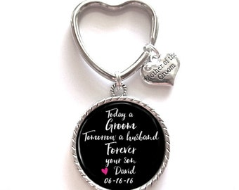 Mother of the Groom Keychain Gift Style 638