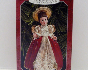 Hallmark Madame Alexander Christmas Ornament Keepsake Collectors John Collin Francis