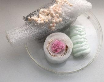 Plastishimi Mini Ornament, Upcycled Plastic and Foam Sushi Sculpture