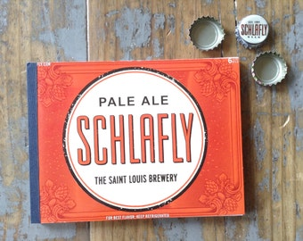 Schlafly Recycled Beer Notebook
