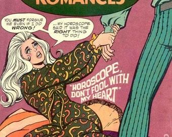 SALE Vintage DC COMICS Girls Romances Oct 1970 No 152