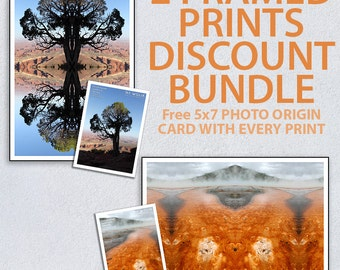 Choose any 2 Framed Prints as a Bundle