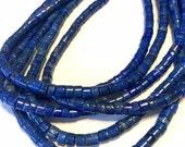 Lapis rondelle heishi 5mm beads whole strand