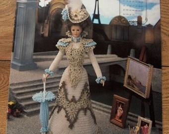 1994 Crochet pattern Fashion Doll MAY PROMENADE COSTUME