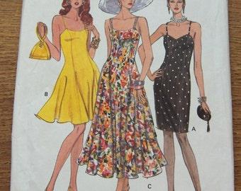 vintage 1992 vogue pattern 8314 misses dress sz 6-8-10 uncut