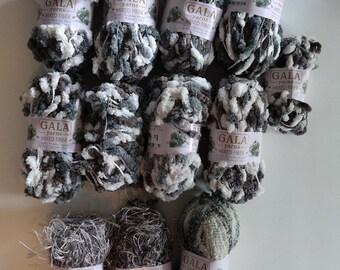 Yarn - Variety - grays, whites, creams