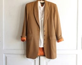 vintage 80s boyfriend blazer J Peterman small