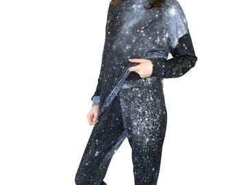 Hubble Galaxy Jogger Pant, Sweatpants. Unisex.