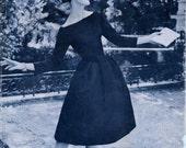 Designer  Nina Ricci  VOGUE Paris Original  Pattern 1388 * GLAMOROUS  Evening Dress  * Size 12 * Bust 32