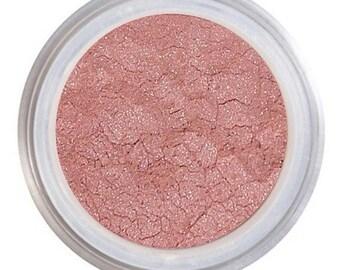 Blush Makeup / ROSY FUTURE / Loose Mineral Blush / Natural Blush / Warm Pink Blush /  Hint / Vegan + Cruelty Free / Natural Mineral Makeup