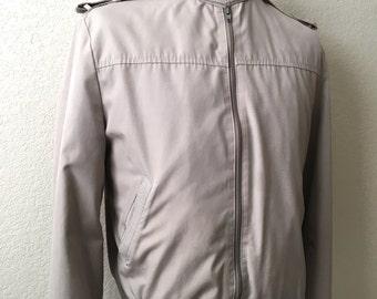 Vintage Men's 80's London Fog, Jacket, Faux Fur, Fully Lined, Winter Coat (M)