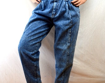 Vintage 80s Denim Baggy Harem Jeans by Pocket Jeans - XS