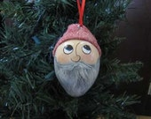 Santa's Elf Gourd Ornament