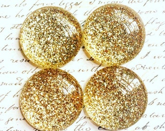 Glass Magnets - Magnets - Gold Magnets - Office Supplies - Decorative Magnets - Gold Magnets - Office Accessories - Fridge Magnets - Gold