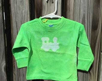 Kids Train Shirt, Green Train Shirt, Boys Train Shirt, Girls Train Shirt, Train Kids Shirt, Toddler Train Shirt (18 months) SALE
