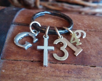 Christian Keyring, GENESIS 31:49-May the Lord watch over us, scripture keyring, couples gift, wedding gift, protection prayer, being apart
