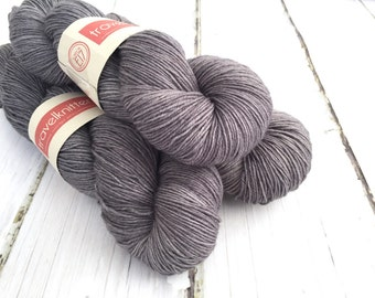 BFL Supersock British Bluefaced Leicester / Nylon sock yarn - London Skies