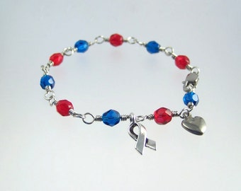 Sudden Arrhythmia Death Syndrome SADS Awareness Bracelet