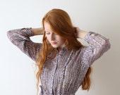 HOLD - Mon Rêve, lavender aura vintage dress, Japan, ultra light, medium - large