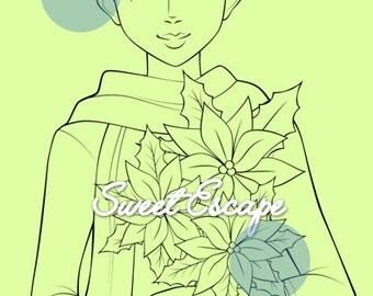 Winter's Beauty Digital Stamp