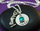 Mermaid Necklace - Mermaid Jewelry - I'm Really A Mermaid - Fantasy Jewelry - Secret Sister Gift - Nautical Jewelry - Birthday