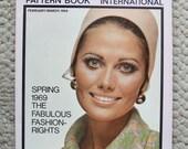 Vogue Pattern Book International February/March 1969