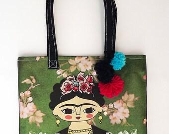 Frida Kahlo bag, VOGUE, original illustration
