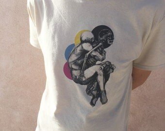 Color Separation Anxiety, T-Shirt, Men's & Womens