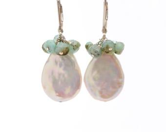 Sundrop Pearl Earrings
