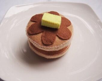 Felt Pancakes - Play Toy Food - Pretend play