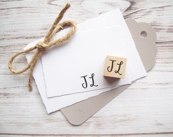 Initials Stamp - Name Signature Personalized Custom Bridesmaid , Mother's Gift