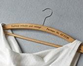 Vintage Kleiderbügel für das Hochzeitskleid, Holz, Upcycled, Second Hand, Brautkleid, Brautkleid Bügel, Vintage Wedding