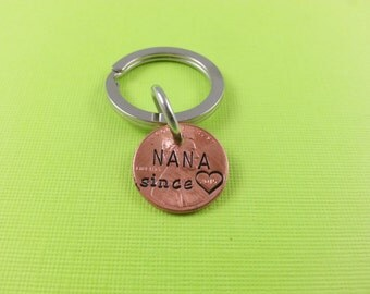 Nana Stamped Penny - Gift for Her - Daughter Gift For - Stamped Penny - Son Gift For - New Nana - Best Nana