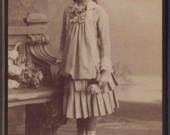 Lovely CDV 2, by Gjuro Varga of Zagreb, circa 1890s