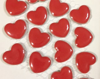 Heart Shaped Tiles: Great for Crafts and Jewelry