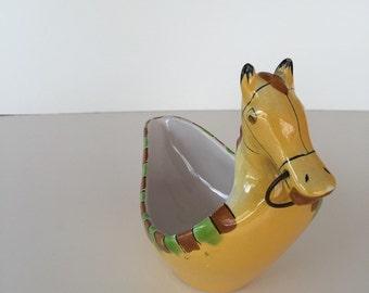 Mid Century Modern Italian Pottery/ Bittossi Londi/ Raymor Bittossi Londi Horse/ By Gatormom13