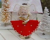 Retro Angel - Made in Japan - Christmas Ornament - Oak Hill Vintage