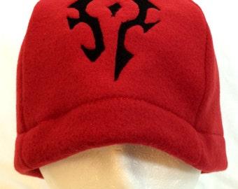 Horde Inspired World of Warcraft Fleece Hats