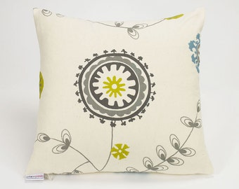 Emma Summerland Botanical Pillow Cover - 16 inch