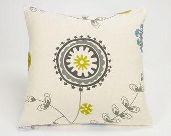 Emma Summerland Botanical Pillow Cover - 16 inch