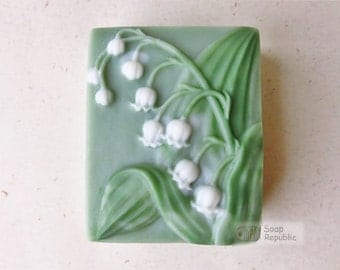 Lily of the Valley Silicone Soap Mold ( Soap Republic )
