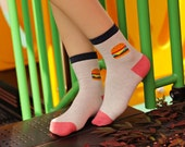 Kawaii Burger Socks