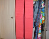 Hot Pink Quilted Garment Jumbo Dress Bag