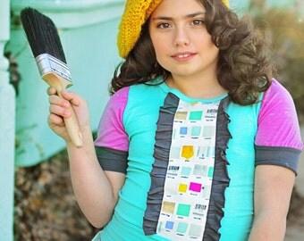 Girl's Little Artist short sleeve t shirt
