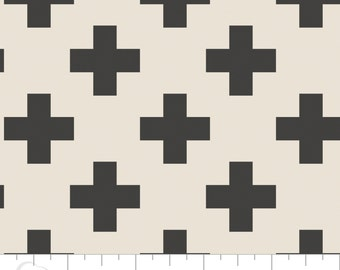 Minky Baby Blanket - Cross in Carbon - Personalization Available - Toddler Blanket