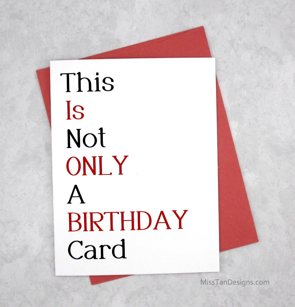 Birthday Card Boyfriend Birthday Card For Him Birthday: Boyfriend Birthday Cards Not Only Funny Gift Sexy Card