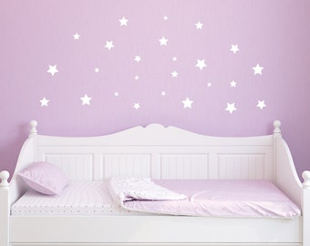 Wall Decals - Nursery - Wall Decor - Nursery Wall Decals - Star Decals - Star Wall Decals - Removable Wall Decals - Wall Decor StickerS