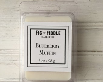 Blueberry Muffin  3 oz Soy Wax Melts Breakaway Melts Soy Candles